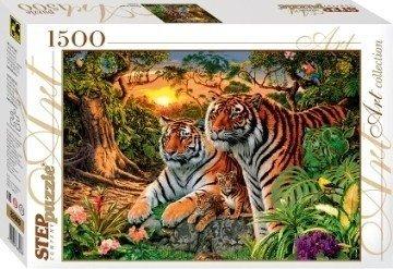 "Пазл 1500 ""Сколько тигров"""